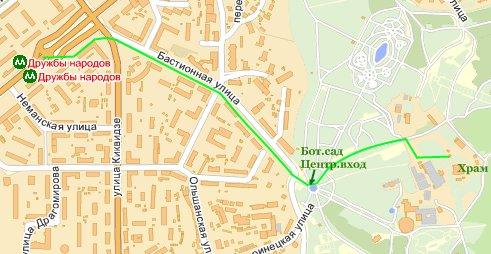 смотреть на картах Yandex